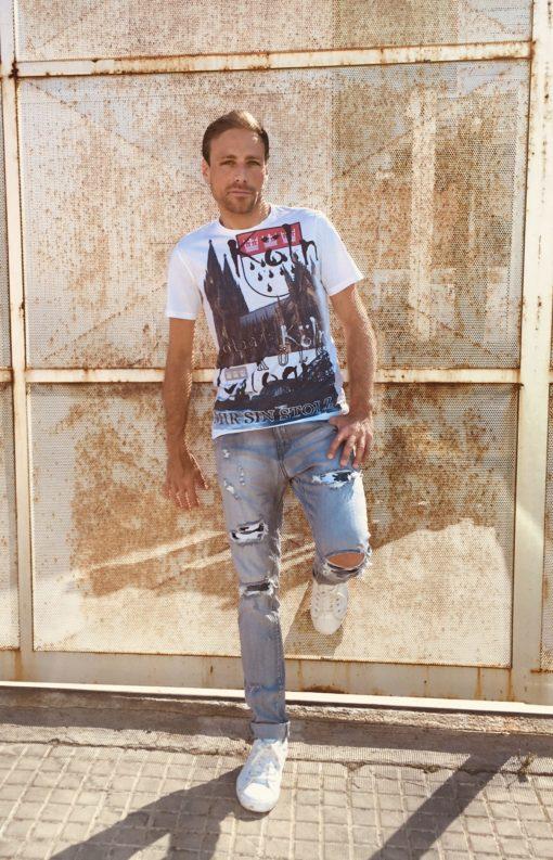Steven Alani T-Shirt Cologne